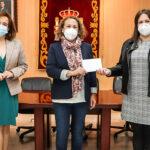 Las mujeres maltratadas que cobija AGIRES reciben más solidaridad de Argamasilla de Calatrava