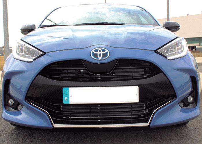 Ayer&hoy prueba el Toyota Yaris Hybrid 2020
