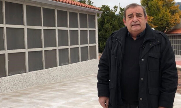 Moralzarzal prepara el cementerio municipal para la afluencia de la festividad de Todos los Santos