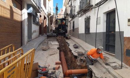 El Ayuntamiento de Jaén comienza las obras en la calle Agustina de Aragón