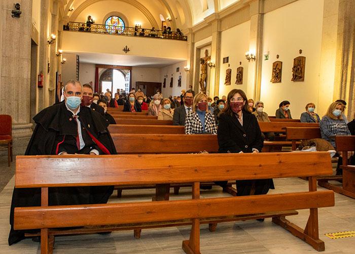 La alcaldesa acompañó a La Lira de Pozuelo en la misa en honor a Santa Cecilia, patrona de los músicos