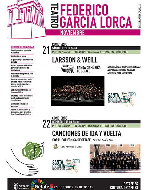 La música protagonista del fin de semana con Santa Cecilia, el Festival de Órgano y dos conciertos en torno al rock