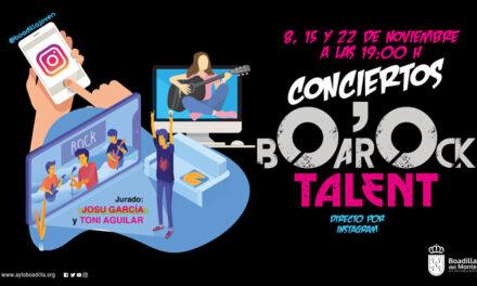 La Concejalía de Juventud emitirá en Instagram su tradicional concurso musical BoarockTalent