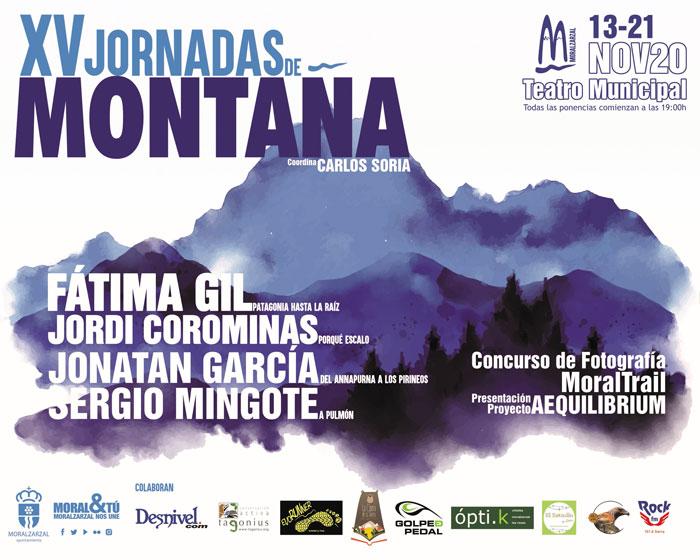 Carlos Soria presenta las XV Jornadas de Montaña de Moralzarzal