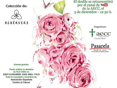 La AECC de Ciudad Real celebra junto a Pasarela Madrid Real, moda sin límite