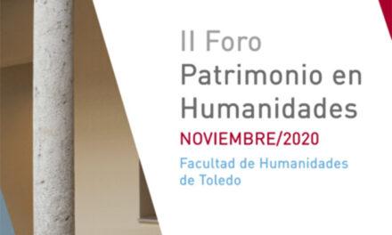 Inaugurado el II Foro de Patrimonio organizado por la Facultad de Humanidades y el Ayuntamiento de Toledo