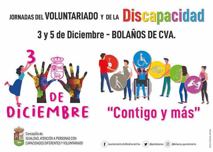El Ayuntamiento de Bolaños prepara las Jornadas del Voluntariado y de la Discapacidad de 2020