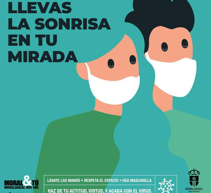 El Ayuntamiento de Moralzarzal lanza una campaña municipal de medidas preventivas contra el coronavirus