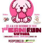 Abierta la inscripción para participar en la I Canirun Virtual