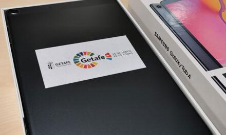 521 tabletas digitales para alumnos de Getafe con las ayudas del Ayuntamiento