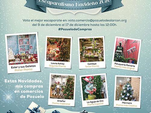 Más de ochenta comercios de Pozuelo participan en el Concurso de Escaparatismo