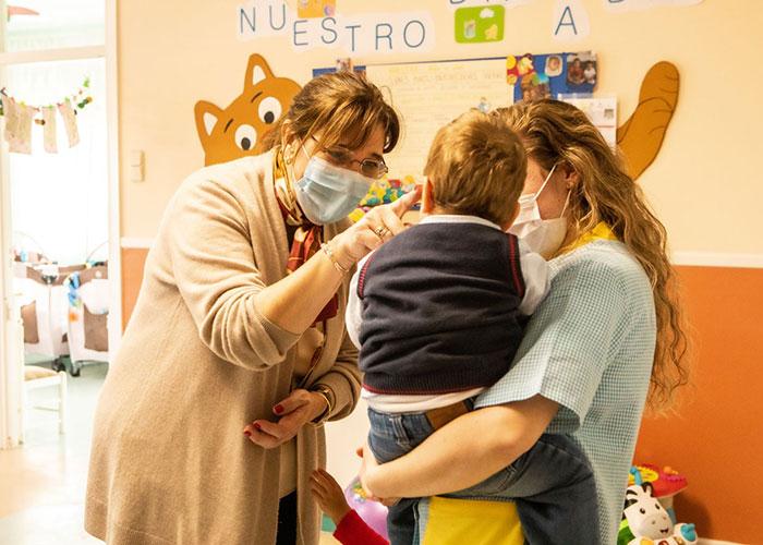 Pérez Quislant y Carballedo visitan la Residencia Villa Paz de las Hijas de la Caridad de San Vicente de Paúl