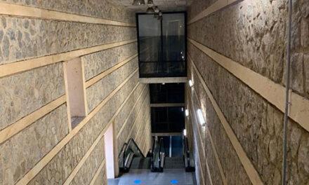El Ayuntamiento de Toledo renueva la iluminación del remonte del Miradero y ejecuta la limpieza de las zonas inferiores de las escaleras