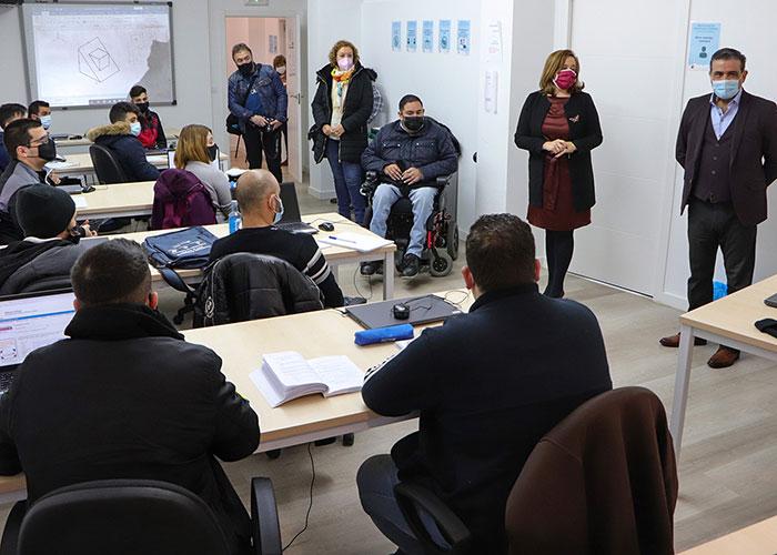 Argamasilla de Calatrava forma a profesionales de la soldadura para la industria de la comarca