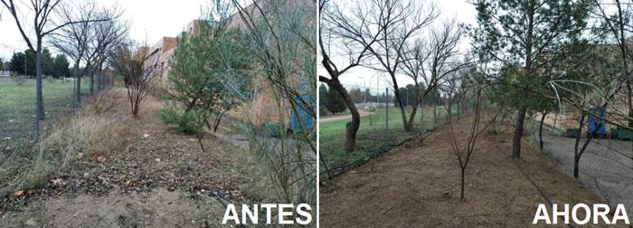 El Ayuntamiento de Toledo intensifica la labor de desbroce y recogida de residuos en suelo municipal antes de las fiestas navideñas