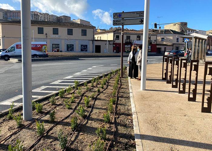 El Ayuntamiento de Toledo inicia la campaña de plantaciones en el paseo de Recaredo y el entorno de la plaza de Safont