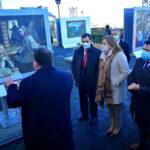 """Toledo se convierte en """"la mejor sala de exposiciones"""" y acoge en el Paseo del Miradero la exposición 'El Prado en las calles'"""