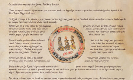 LLegada de la Magia de SS.MM Los Reyes Magos a Jaén y mensaje a todos los niños y niñas de la Ciudad