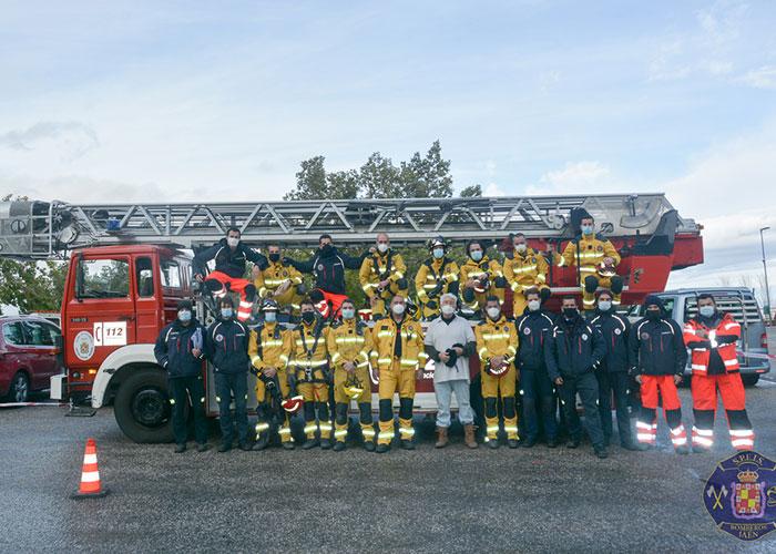 Veinte bomberos se forman en un curso para intervenir ante tentativas de suicidio en el marco del programa de formación anual de este servicio municipal