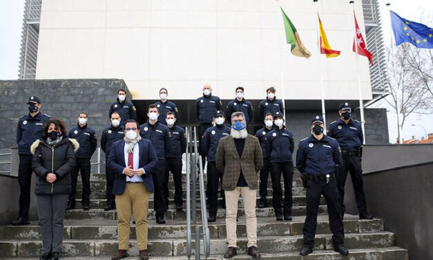 Boadilla incorpora a su plantilla dos nuevos policías locales y once en fase de formación