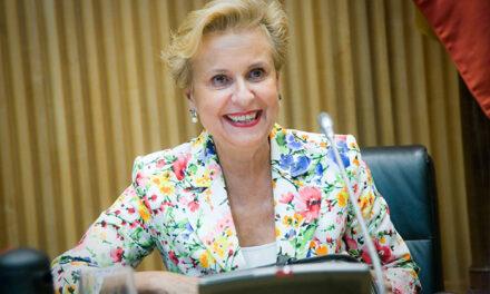 Carmen Quintanilla pide mayor protagonismo social para las personas de edad en el Senado