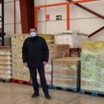 Un grupo de empresarios ciudadrealeños adquiere 7.000 kilos de productos de alimentación e higiene para los niños más necesitados