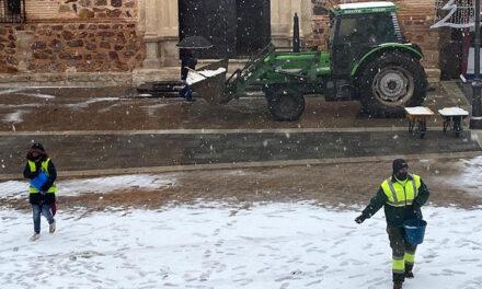 Información ante el temporal de hielo y nieve en Bolaños