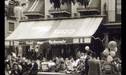 La alcaldesa comparte una película inédita de Toledo rodada en 1956, última incorporación del Archivo