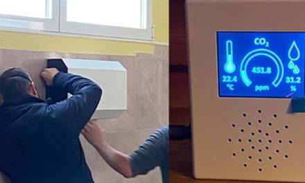 Medidores de CO2 y filtros purificadores para los centros educativos de Alpedrete