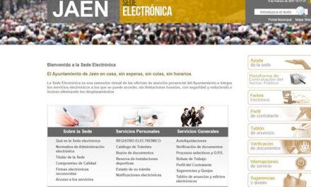 El Ayuntamiento de Jaén consigue que el 100% de los trámites urbanísticos se realicen ya «on line»