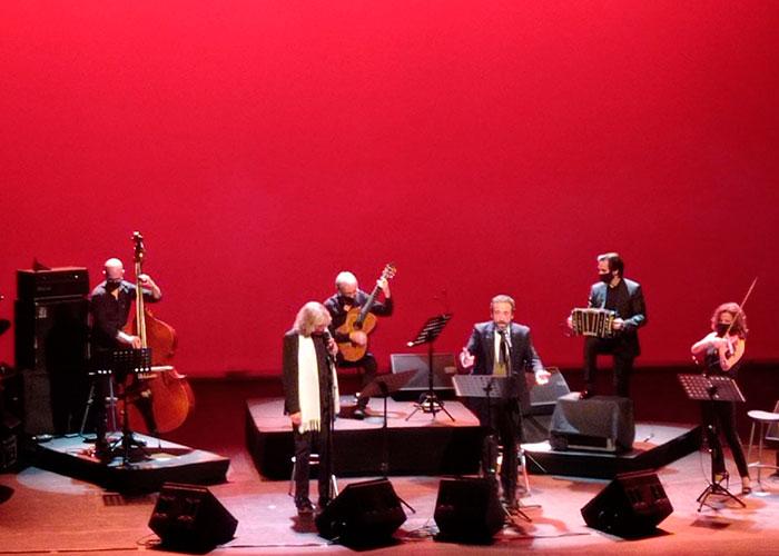 """Mercé y Zapata emocionan al público del MIRA Teatro con su """"Tango mano a mano"""""""