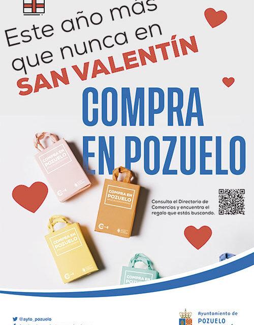 El Ayuntamiento de Pozuelo anima a comprar los regalos de San Valentín en el comercio de la ciudad