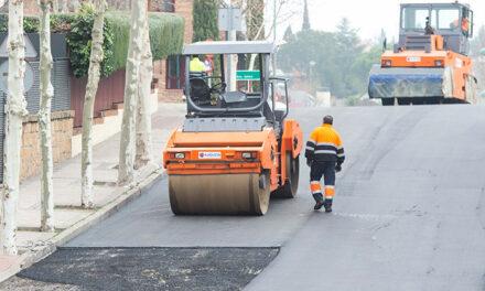 El Ayuntamiento de Pozuelo pondrá en marcha un nuevo plan de asfaltado en la ciudad al que destinará 2,5 millones de euros