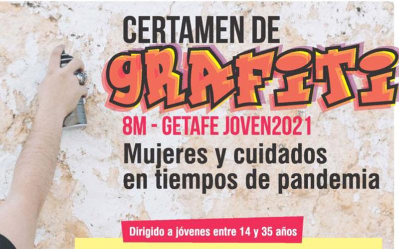 Certamen de Grafiti para jóvenes por el 8 de marzo