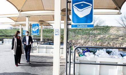 Pérez Quislant visita las instalaciones del Punto Limpio de Ciudad de la Imagen al cumplirse tres años desde su apertura