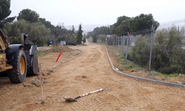 Una senda para peatones y bicicletas conectará Valdepastores, El Encinar y el casco urbano con el sector S