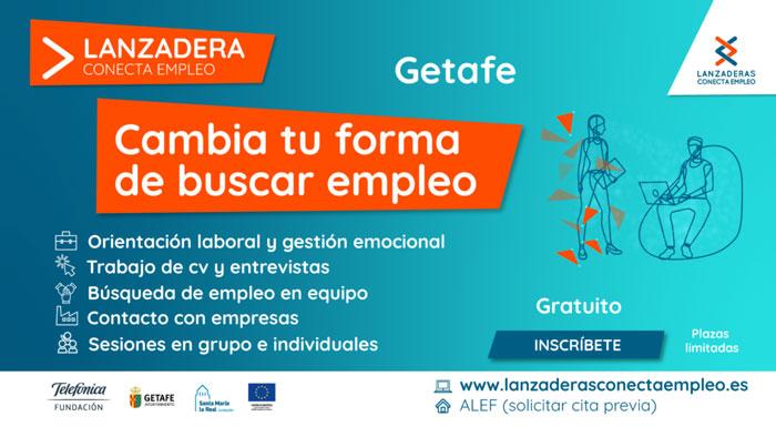 En marzo comenzará una nueva 'Lanzadera Conecta Empleo' para la inserción laboral de 30 personas desempleadas de Getafe