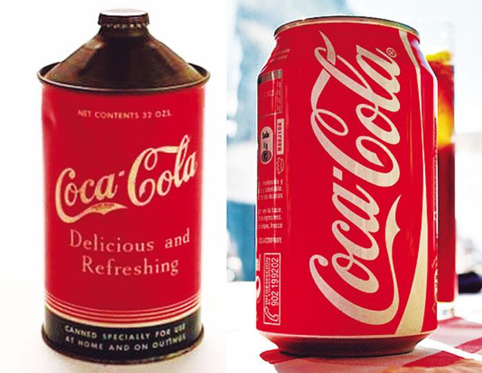 Breve historia de la lata de bebidas