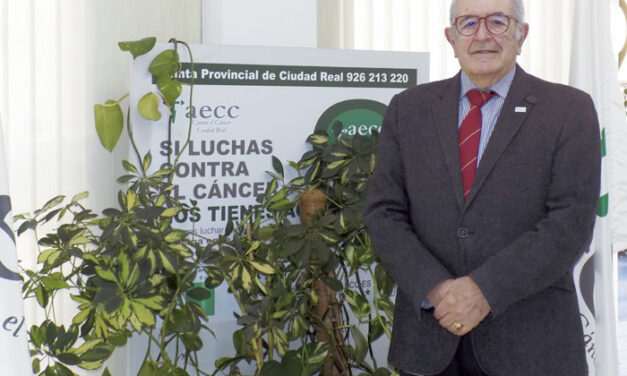 Félix Peinado Carvajal, presidente de la Asociación Española Contra el Cáncer en Ciudad Real
