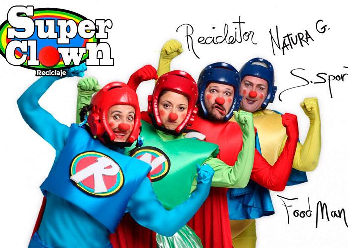 El Rojas inicia hoy un nuevo formato de difusión de espectáculos teatrales con la obra familiar Super Clown