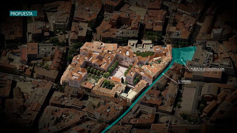 Getafe aprueba el Plan Especial del Hospitalillo que dará paso a la Plaza Porticada
