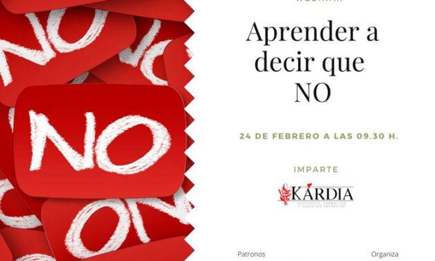 AJE Jaén organiza el taller «Aprender a decir que NO»