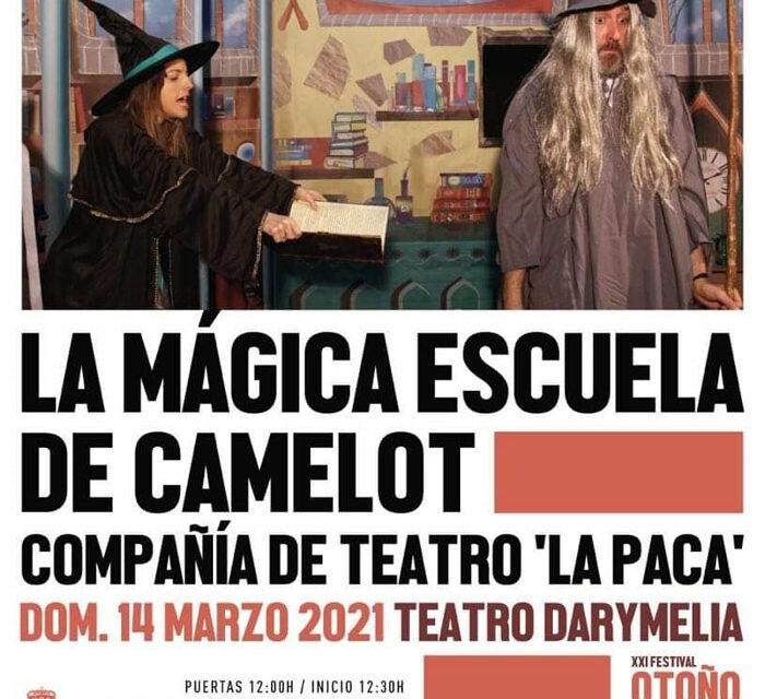 'La mágica escuela de Camelot' llega al Teatro Darymelia para que los peques conozcan las aventuras del mago Merlín y busquen la espada mágica de Excalibur