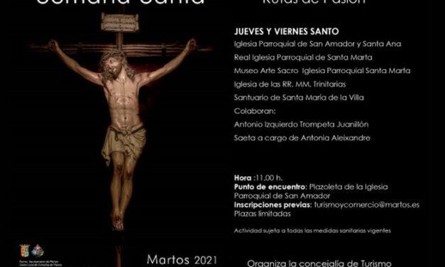 El Ayuntamiento de Martos organiza visitas guiadas a los templos de Martos con motivo de la Semana Santa
