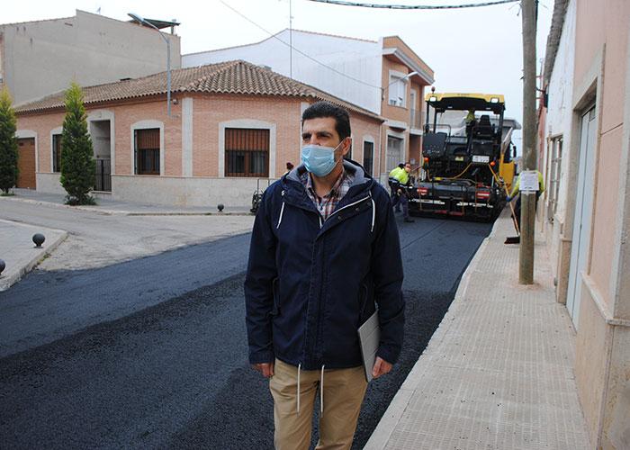 El Plan de Pavimentación 2021 de Valdepeñas se realiza en 16 calles con 460.000 euros de inversión