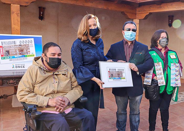 5,5 millones de 'cupones rabaneros' de la ONCE se ofrecen ya por toda España