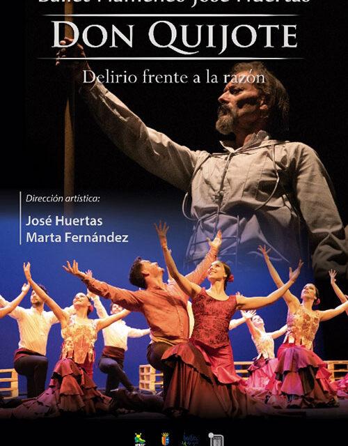El Teatro Federico García Lorca inaugura el abono de danza con 'Don Quijote. Delirio frente a la razón'