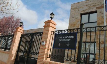 La Escuela Infantil Municipal de Cachiporro de Valdepeñas hace público el periodo de reserva de plazas