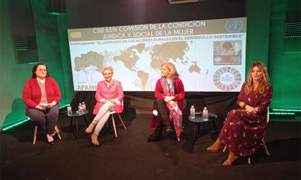 """""""AFAMMER afirma ante Naciones Unidas que no habrá desarrollo sostenible sino se cuenta con las mujeres rurales"""""""
