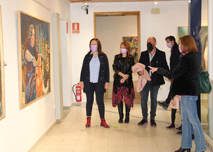 """Inaugurada la exposición """"Artistas Mujeres"""" para conmemorar el Día Internacional de la Mujer en Alcázar"""